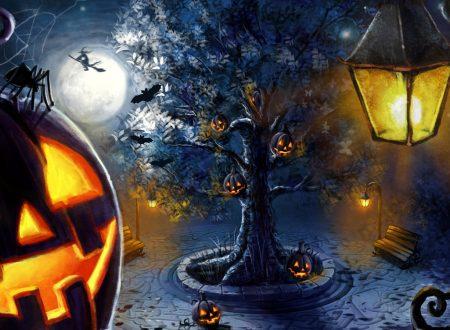 Halloween e le Zucche Illuminate