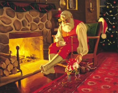 Babbo Natale E San Nicola.La Leggenda Di Babbo Natale Odino E San Nicola Dareagle