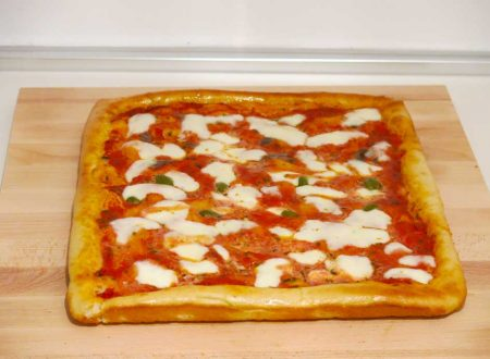 Ricetta della Pizza Margherita fatta in casa